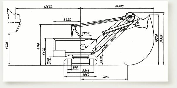 Экскаватор экг 5 схема